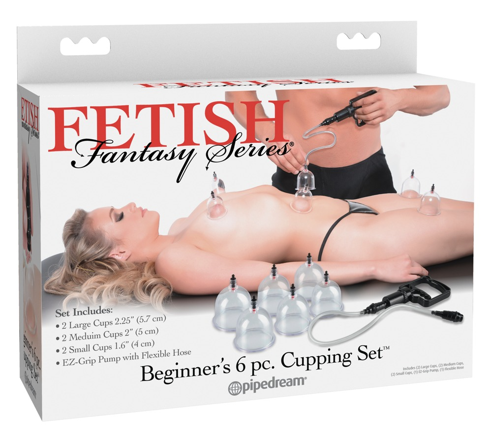 Beginner's 6 pc. Cupping Set
