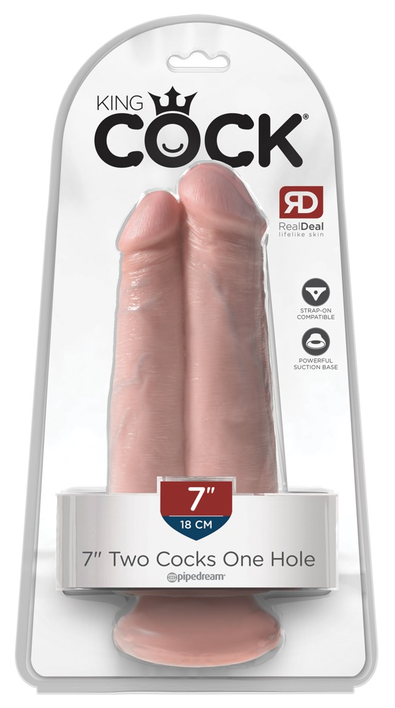 "7"" Two Cocks One Hole"