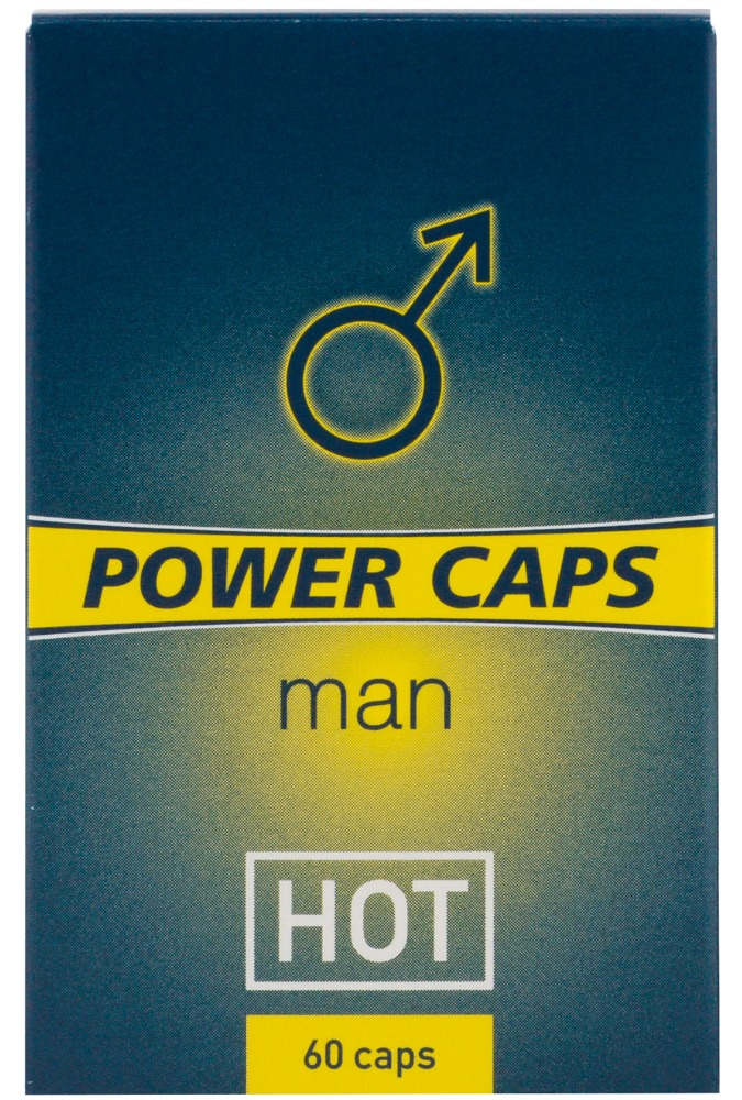 HOT Power Caps Man 60er