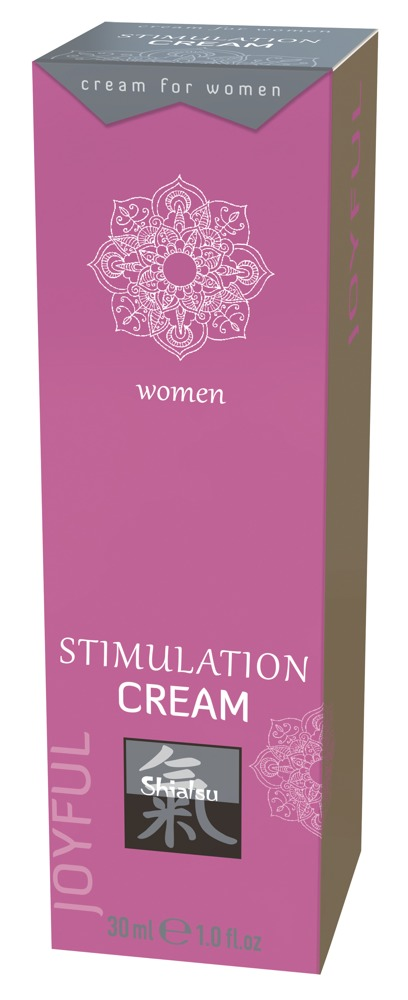 Shiatsu Stimulation Cream