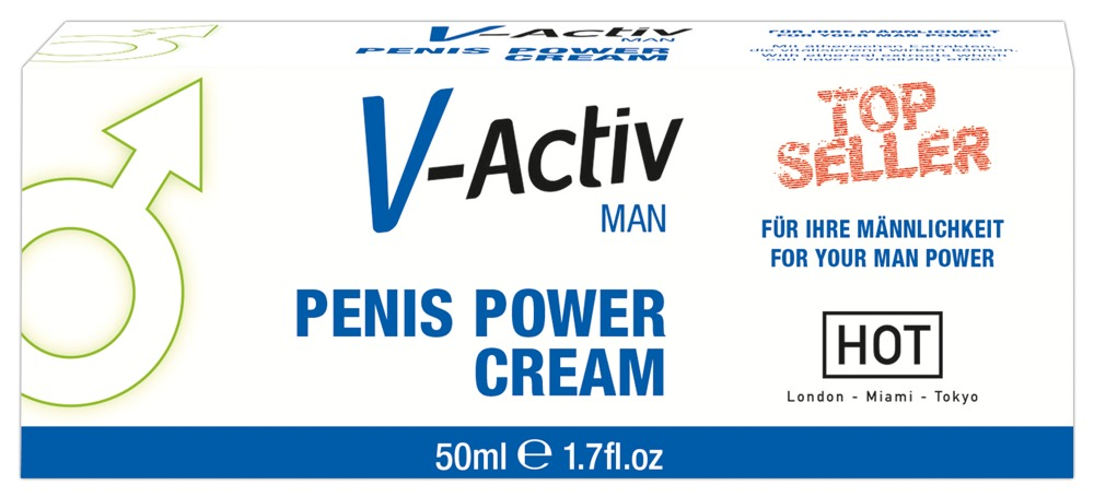 V-Activ Penis Power Cream 50 ml